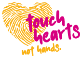 Touch Hearts Not Hands Logo